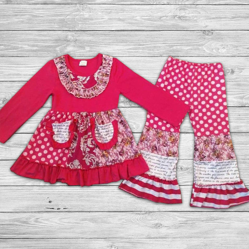 Presley Pant Set with Bow