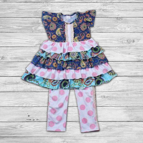 Malena Pant Set with Bow