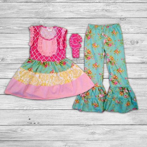 Katie Pant Set with Bow