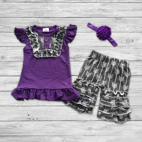 Scarlette Short Set with Bow