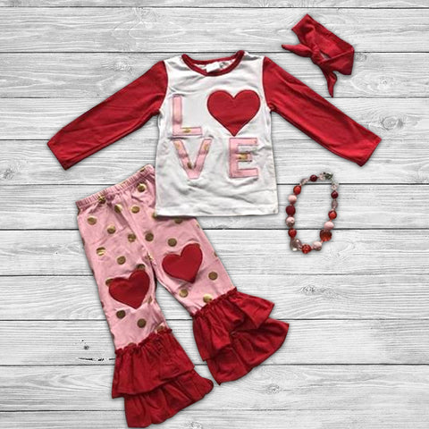 Love Pant Set with Accessories