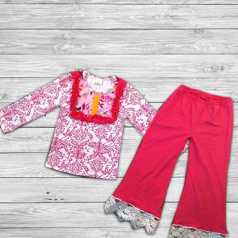 Francy Pant Set with Bow