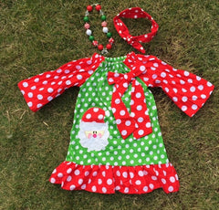 Christmas Santa Claus Frock Dress