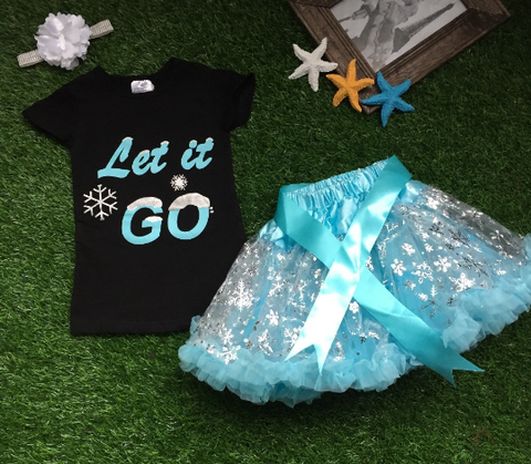 Let It Go Skirt Set with Accessories