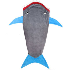 Grey Shark CozyPocket Fleece Slumber Blanket