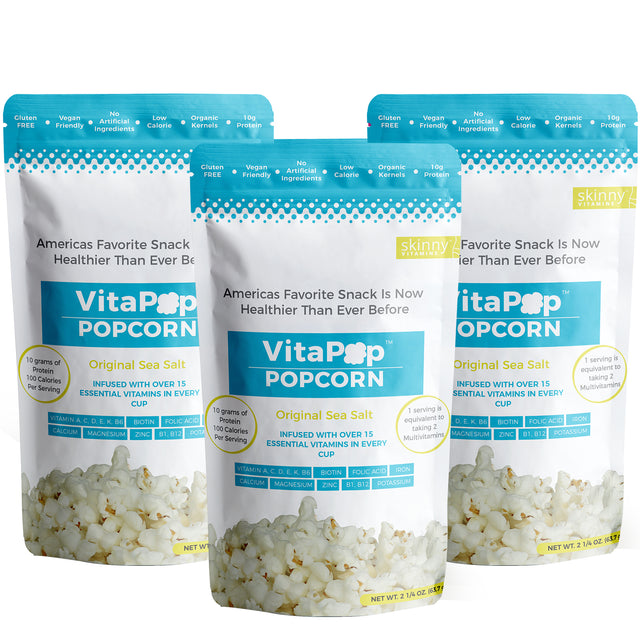 VITAPOP SEA SALT 3 PACK