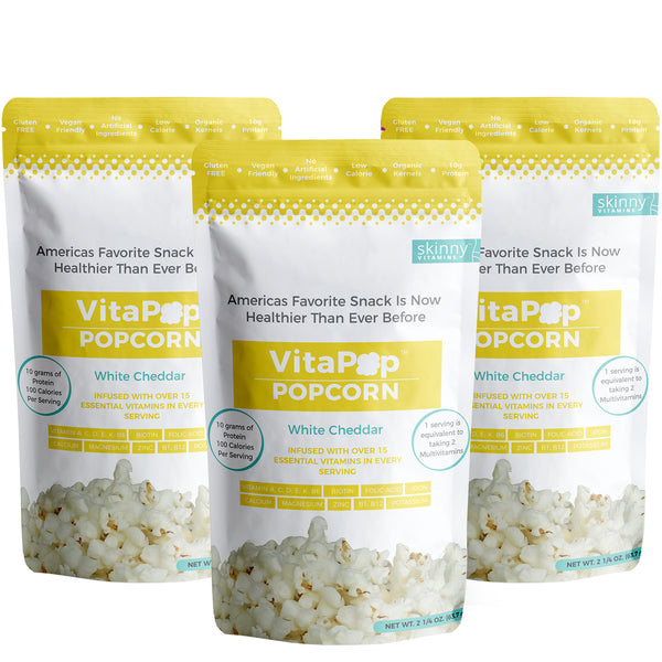 VITAPOP WHITE CHEDDAR 3 PACK