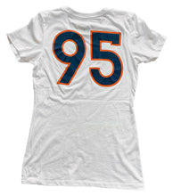 95 White Bronco SS Womens Tee