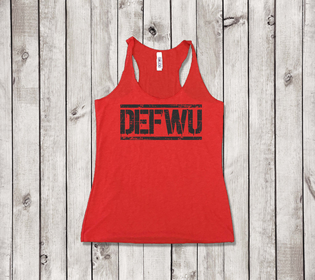 **New Women's Racerback Tank (RED)