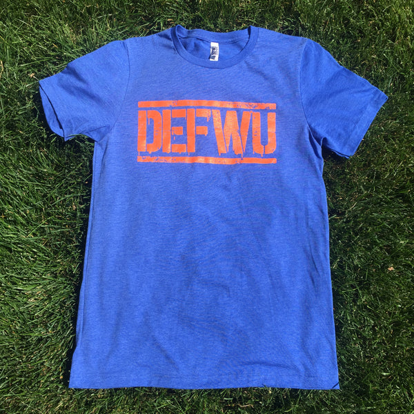 **Men's OG Broncos Tee (Royal/Orange)