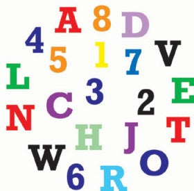 Alphabet & Number Tappit Sets - FMM Sugarcraft
