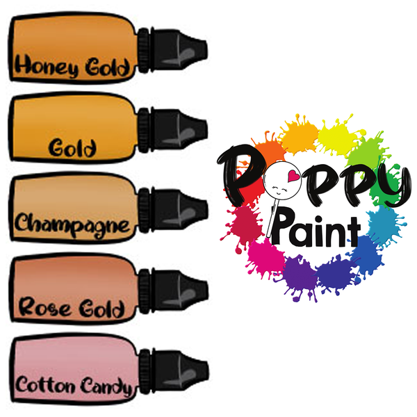 Poppy Paint Set: All That Glitters