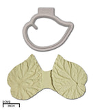 Begonia Leaf Veiner+Cutter Set, Rex