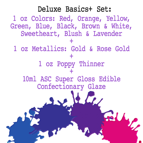 Poppy Paint Deluxe Basics+ Set