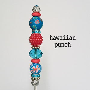 "Decorated Scriber Needle, 6.5"" - Flower Power"