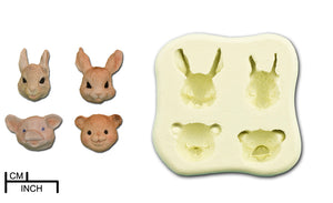 Animal Heads Collection - 4 Products