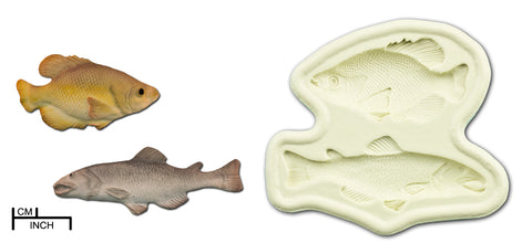 Fish (Salmon and Carp) Mold