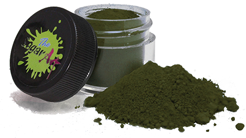 Elite Color™ powder colors - GREENS: Darks & Deeps