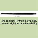 Friller/veiner/mouth tool