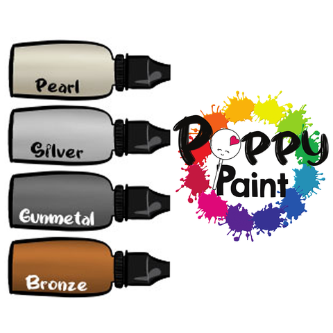 Poppy Paint Precious Pearls Set