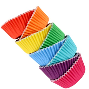Cupcake liners - deluxe foil-lined