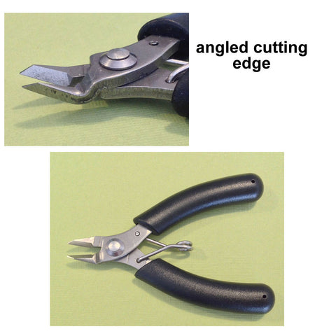 Wire cutter, black handle