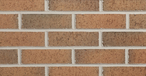Flashed Salmon Velour Modular Thin Brick Sample