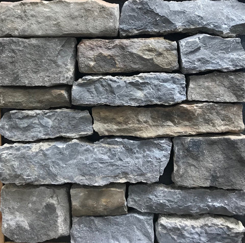 Tennessee Mountain Stone River's Edge Sawn Thin Veneer Corners FREE Shipping - Sold in boxes of 10 Lin. Ft. - $14.99 per Lin. Ft.
