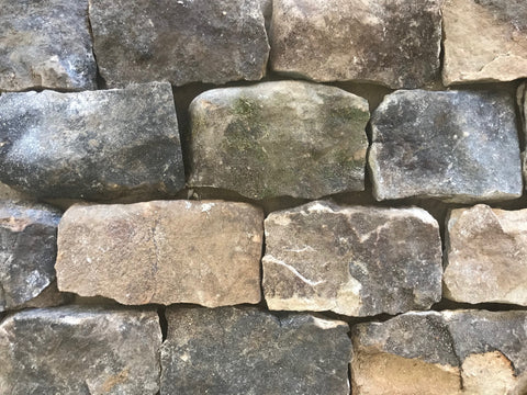 "Tennessee Mountain Stone Ledgestone 3-6"" Sawn Thin Veneer Corners FREE Shipping - Sold in boxes of 10 Lin. Ft. - $14.99 per Lin. Ft."