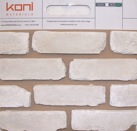 Old Chicago Blanc Thin Brick Sample