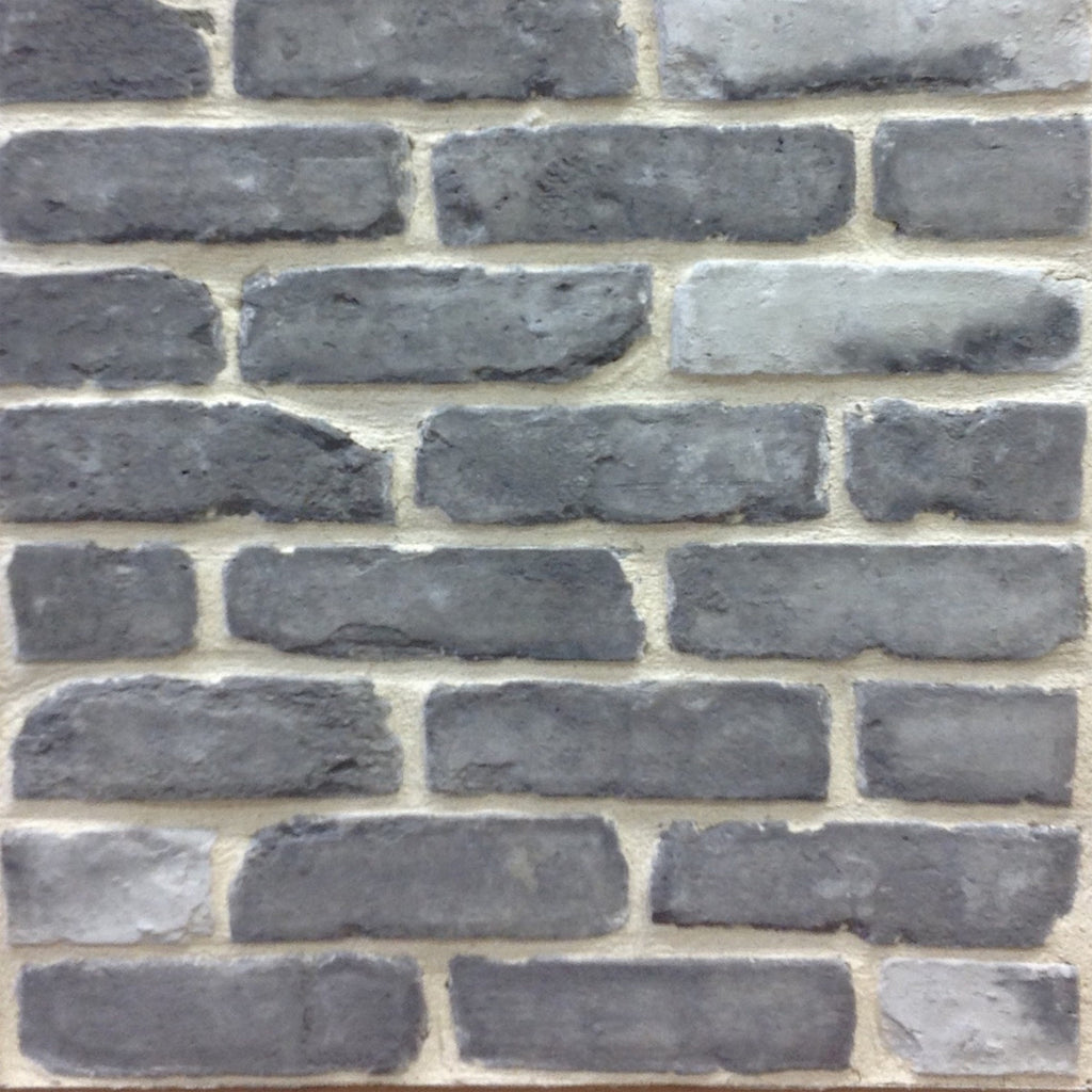 Hourwall Classicbrick Vintagewhite: Old Chicago Grey Thin Brick