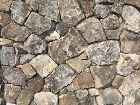 Tennessee Mountain Stone Custom Blend Sawn Thin Veneer FREE Shipping - Sold in pallets of 150 Sq. Ft. - $9.89 per Sq. Ft.