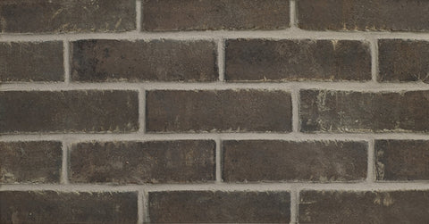 Black Beauty Modular Thin Brick    By Glen Gery    FREE Shipping  10.3 Sq.Ft.
