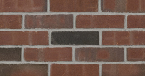 Rustic Burgundy Modular Thin Brick Sample