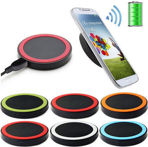 Universal 5V 1A Fast Qi Wireless Charger Charging Transmitter Power Adapter