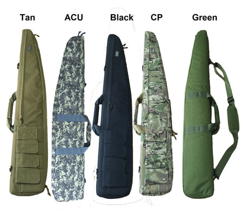 Hunting 120cm Gun Rifle Carrying Bags Military Gun Case Shoulder Pouch