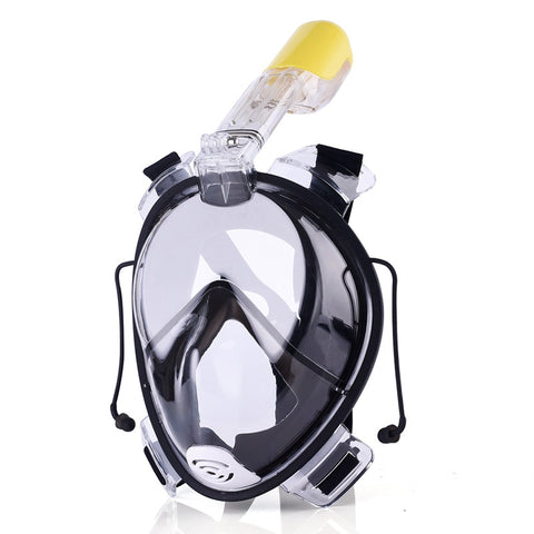 Scuba Diving Full Face Snorkeling Masks Anti Fog & Leak With Gopro Mount