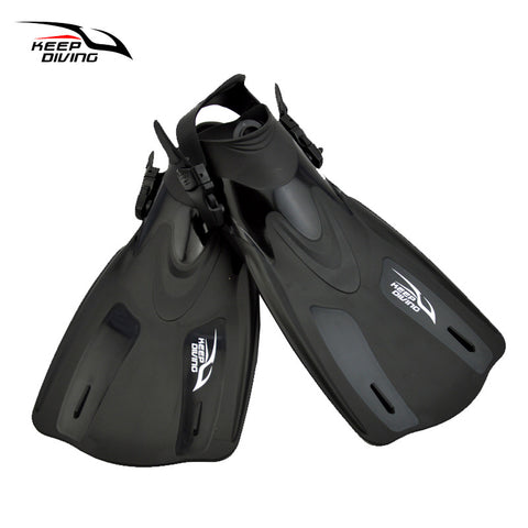 Adjustable Scuba Diving Fins Snorkeling Flippers For Adults