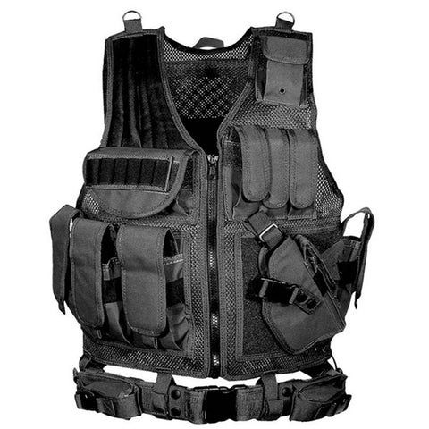 Army CS Tactical Military Protective Vest Outdoor Hunting Training