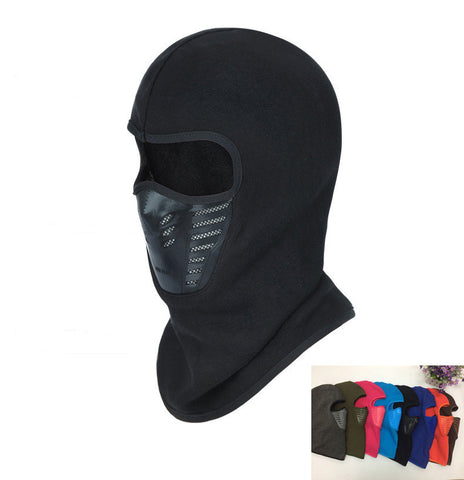 Winter Warm Windproof Face Mask Thermal Fleece Balaclava Hat