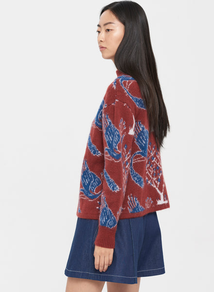 Peacock Sweater