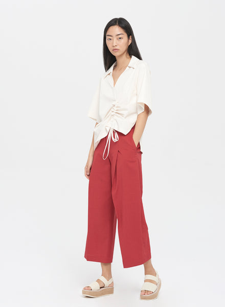 Deep Pleat Culotte