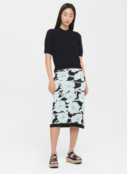 JACQUARD KNIT SKIRT