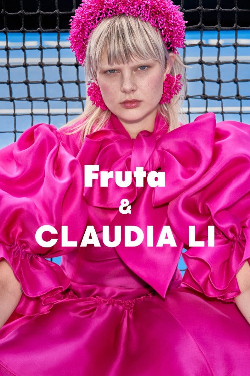 CLAUDIA LI X FRUTA LIMITED EDITION EARRINGS