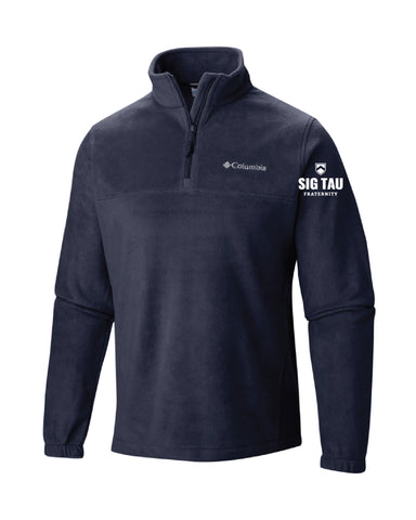 Sig Tau Fraternity Columbia Quarter Zip