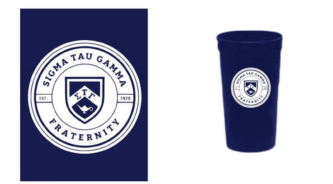22 oz. Official Seal Stadium Cups