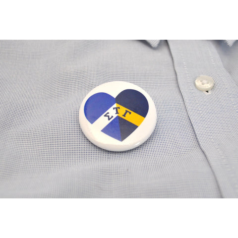 "1.5"" STG Heart Button"
