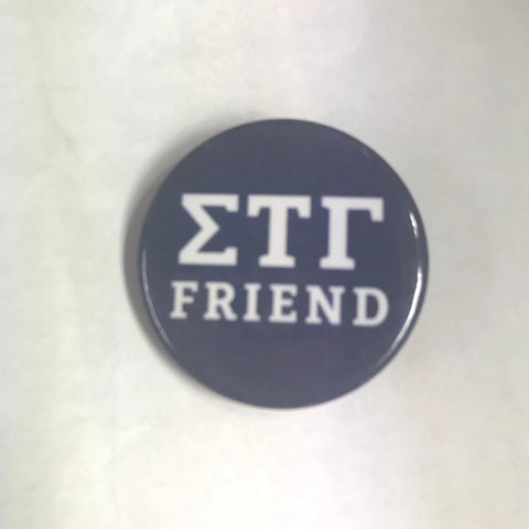 "1.5"" Sig Tau Friend Button"