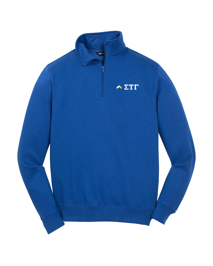 Greek Letter Quarter Zip