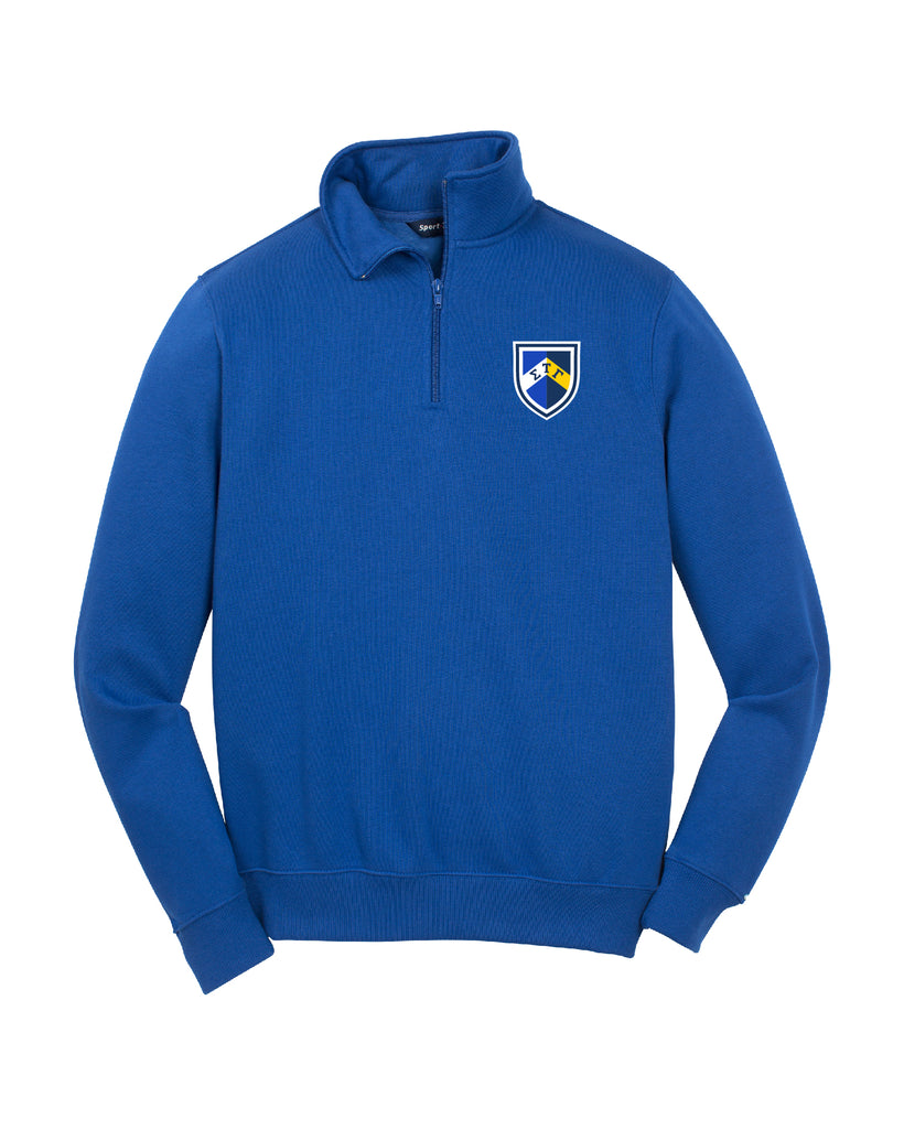Shield Quarter Zip